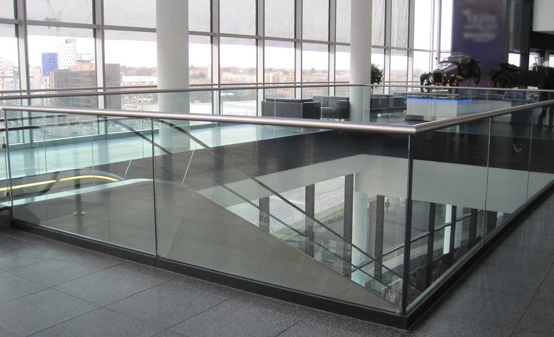 Glass Balustrades For Stairs Suppliers In London