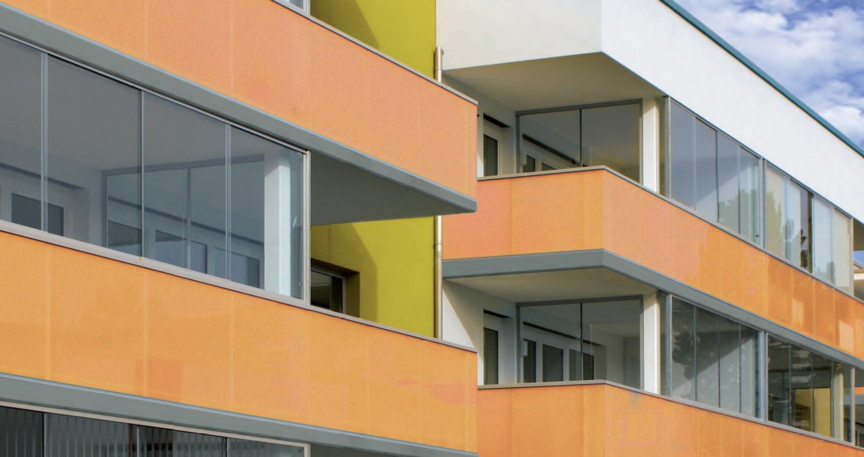 Glas Marte Winter Garden Balcony Glazing System